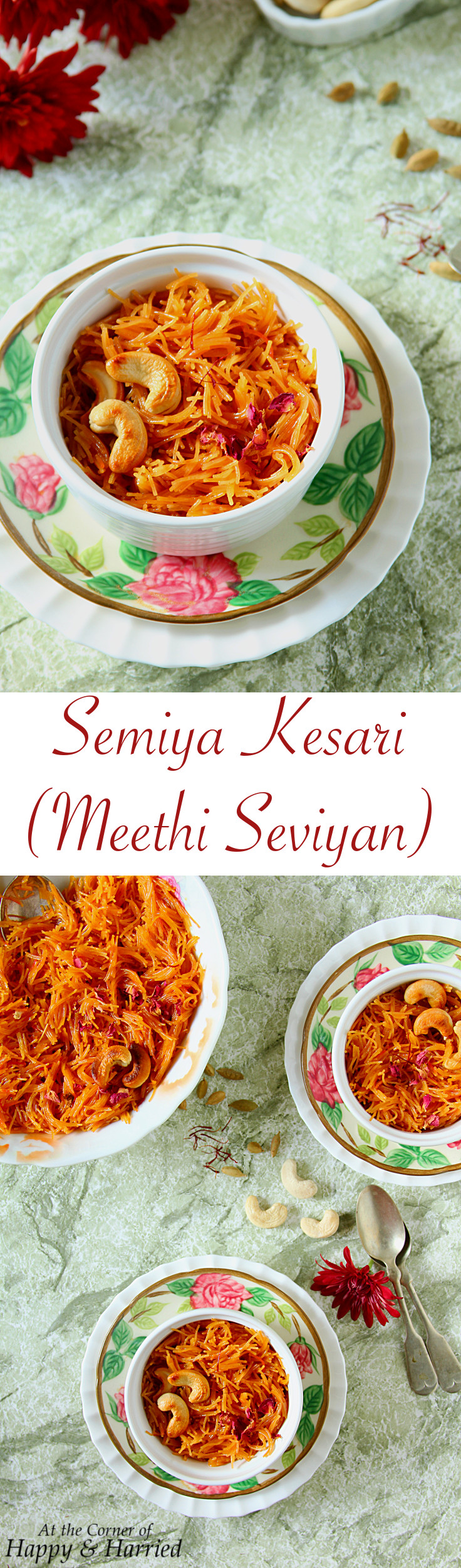 Semiya Kesari {Meethi Seviyan} - HappyAndHarried