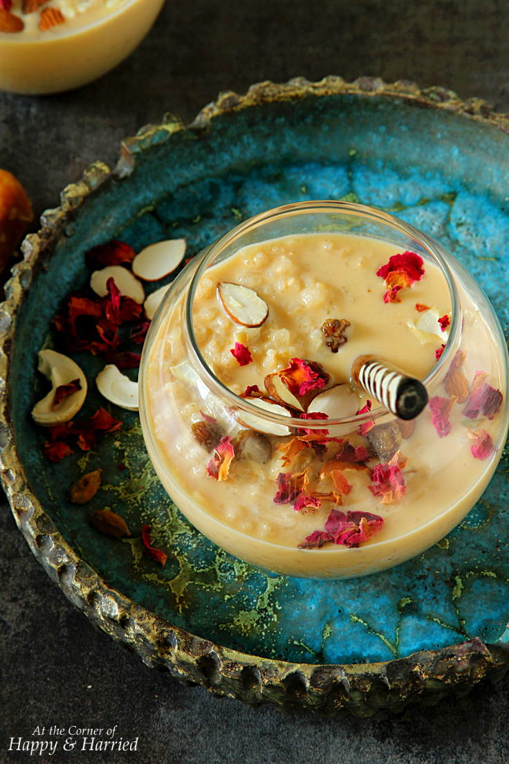 SLOW COOKER BROWN RICE JAGGERY KHEER - HAPPY&HARRIED