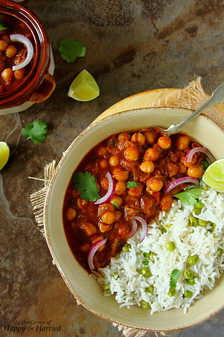 Choley or chana masala indian chickpea curry choley masala or chana masala indian chickpea curry forumfinder Choice Image