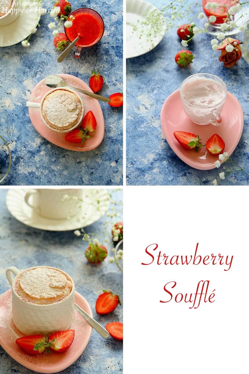 STRAWBERRY SOUFFLE - HAPPY&HARRIED