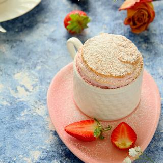 Strawberry Soufflé