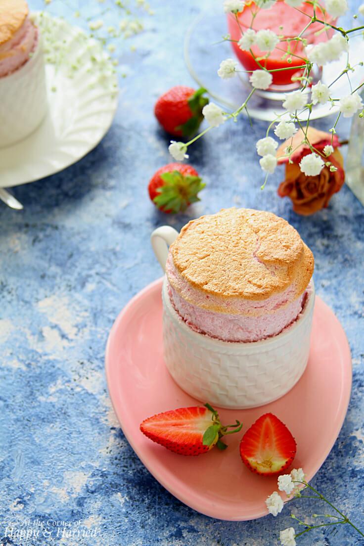 Strawberry Soufflé