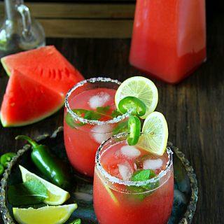 Watermelon-Jalapeño Agua Fresca