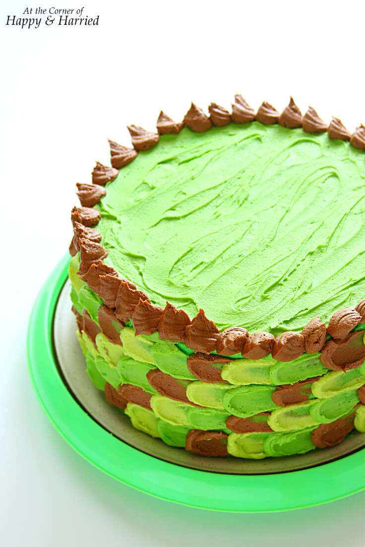 MINECRAFT THEMED BIRTHDAY CAKE - HAPPY&HARRIED
