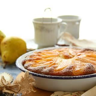 Pear Yogurt Cake