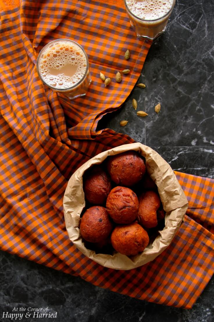 UNDAN PORI - KERALA WHOLEWHEAT BANANA FRITTERS - HAPPY&HARRIED