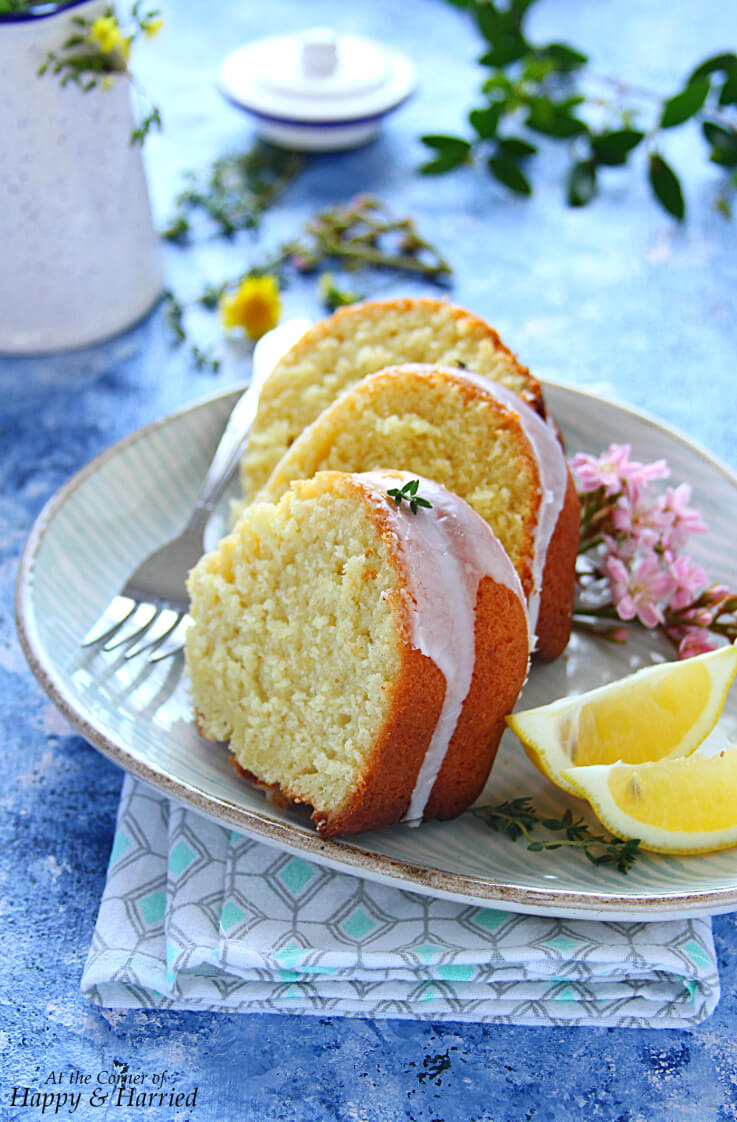 Olive Oil Cakes Lemon And Thyme