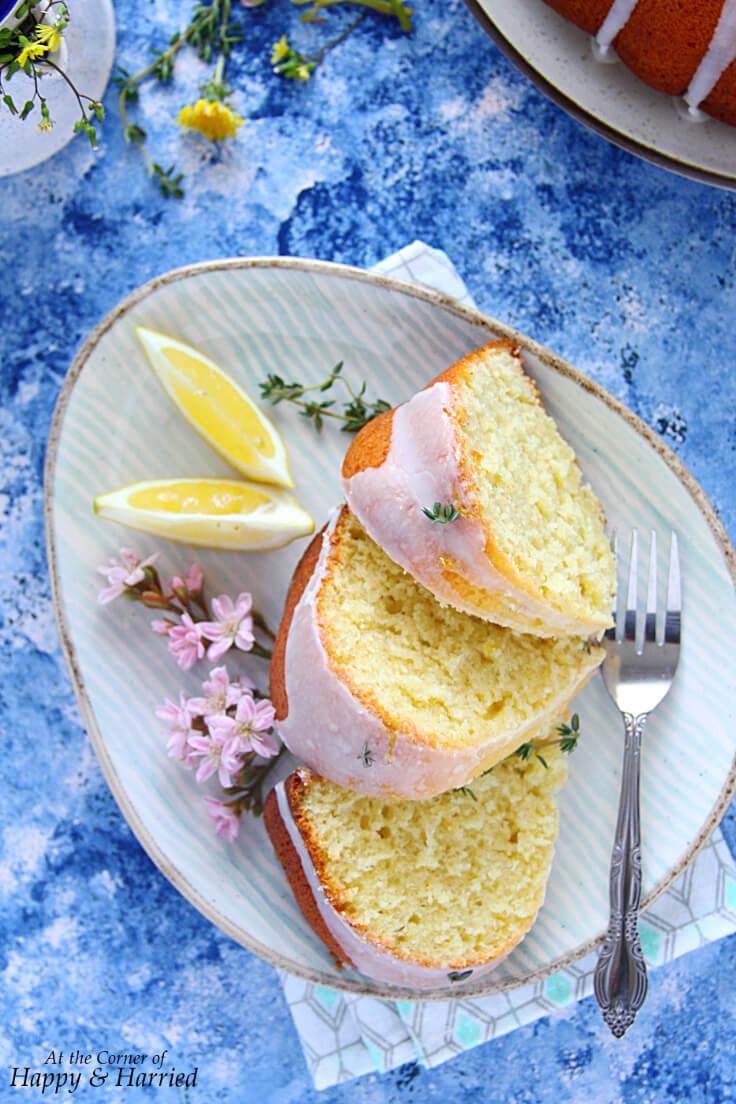 Lemon Bundt Cake With Oil
