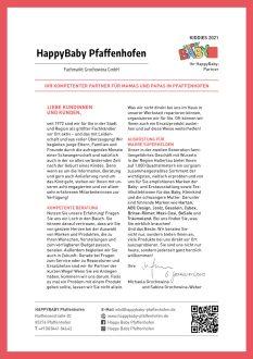 HappyBaby Pfaffenhofen - Einleger 2021