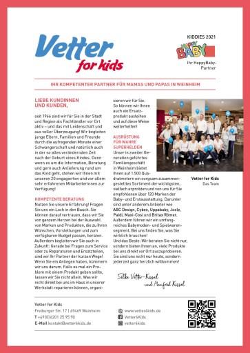 Vetter for Kids - Einleger 2021