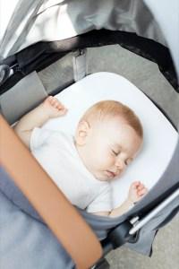 Belüftungsfenster sorgen dafür, dass das Baby im Inneren des Wagens stets ausreichend frische Luft bekommt.