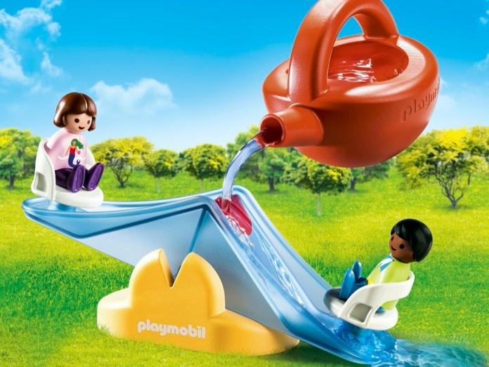 Die Wasserwippe von Playmobil ist Teil des wachsenden Sortiments an Wasserspielzeugen.