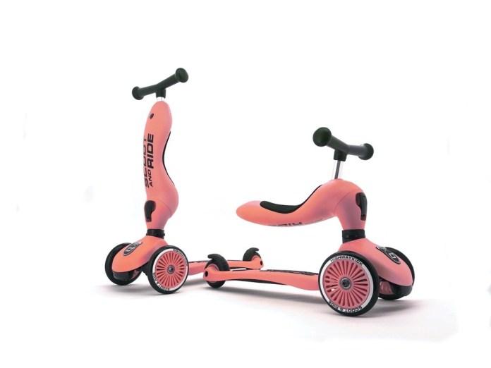 """Das Modell """"Highway Kick 1"""" von Scoot & Ride lässt sich umbauen, wodurch es umso länger genutzt werden kann!"""