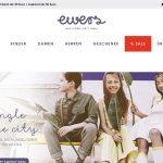 Screenshot der Marke Ewers Collection