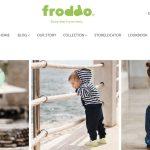 Screenshot der Marke Froddo Kinderschuhe