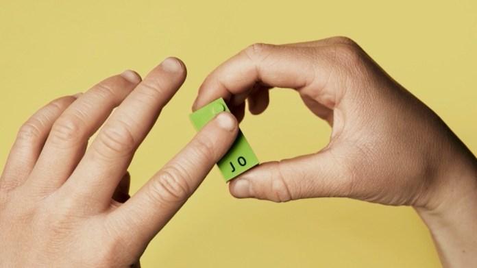 Lego mal etwas anders - nämlich mit Braille-Buchstaben