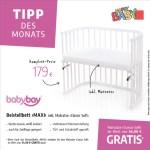 Tipp des Monats Januar – Beistellbett von BabyBay