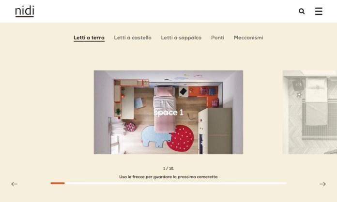 Screenshot der Marke Nidi