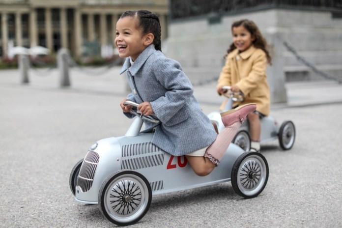 Der französische Anbieter Baghera hat ein altes Modell von Mercedes für Kinder wiederbelebt.