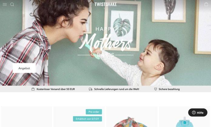 Screenshot der Marke Twistshake