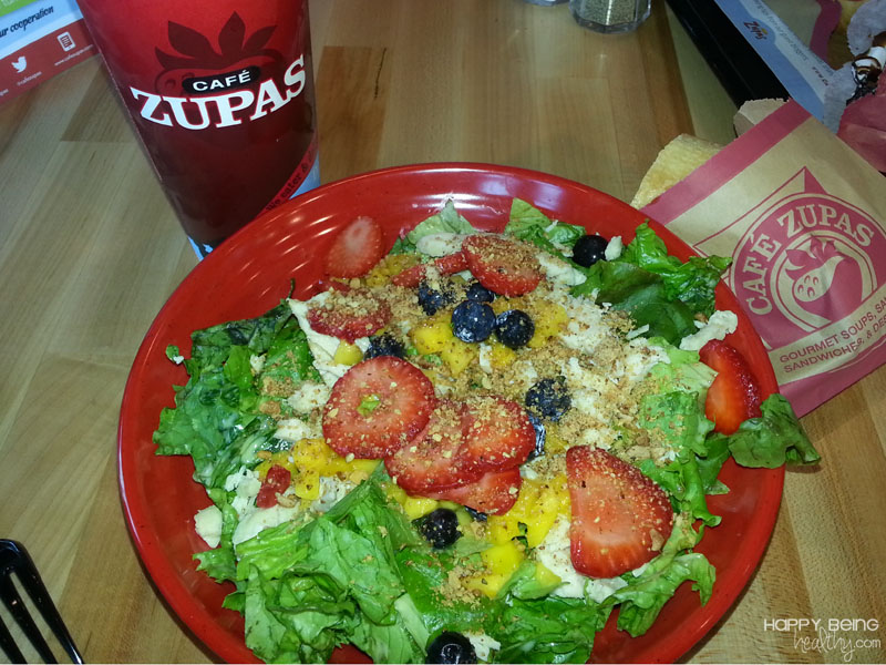 Cafe Zupas Food Happy Being Healthy