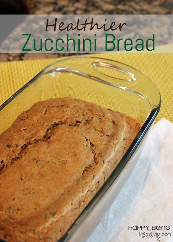 A Fun Weekend Healthier Zucchini Bread Happy Being Healthy