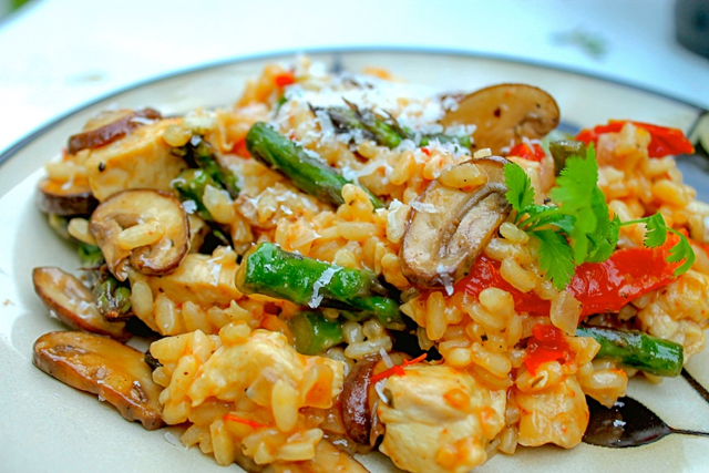 Chicken and Sun Dried Risotto