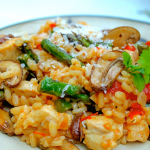 Chicken and Sun dried Tomato Risotto