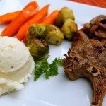 Pan Seared Lamb Chops