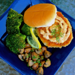 Shrimp Burgers with Chipotle Mayo