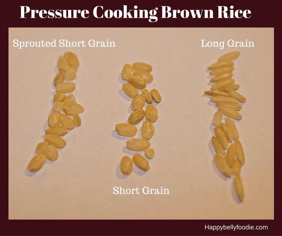 how to cook brown rice in pressure cooker