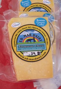Kenton County Colby, American Style Cheese