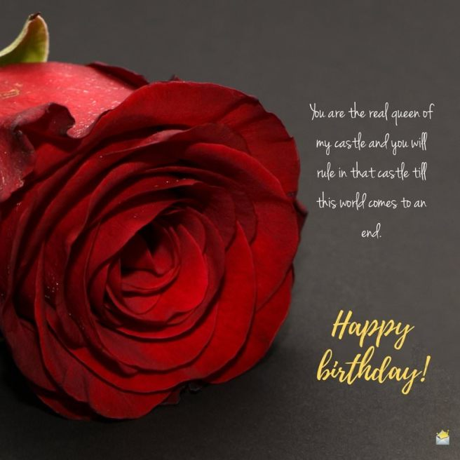 Happy Birthday for your Wife | Romantic + Cute Quotes for Her