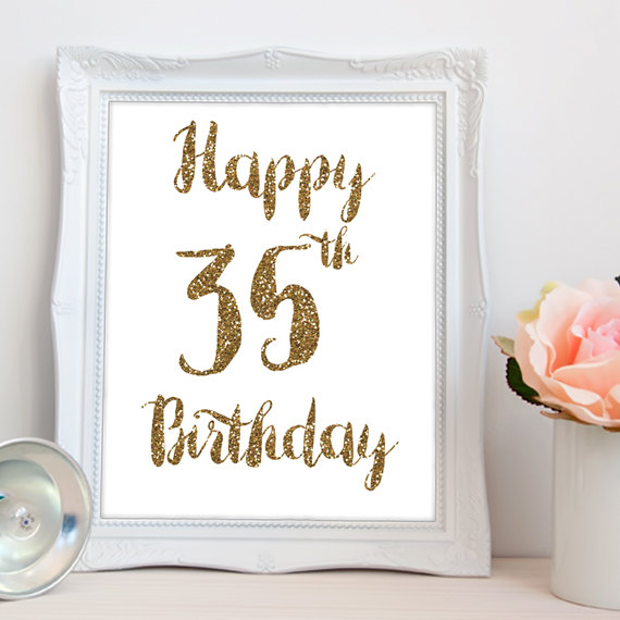 17 Awesome Wishes For 35th Birthday