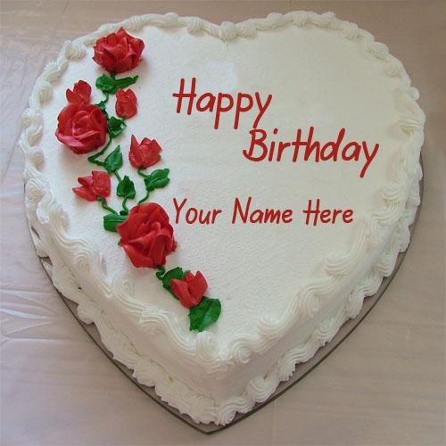 Happy Birthday Cake Wishes Name
