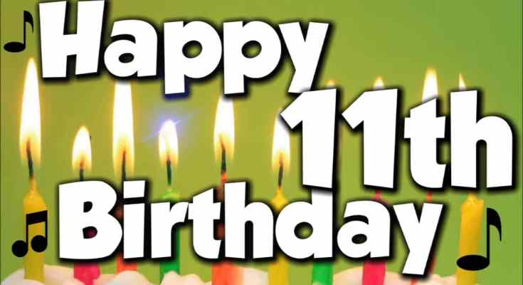 11th Birthday Wishes For 10 Year Old  Girl & Boy