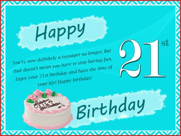 happy 21st birthday cards 21st birthday wishes messages and greetings happy 21st birthday cards