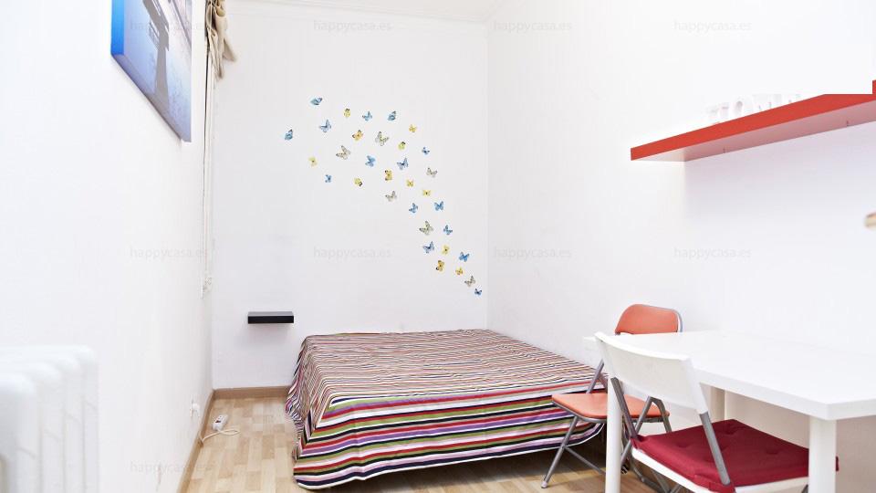 Alojamiento universitario con cama doble Barcelona L3