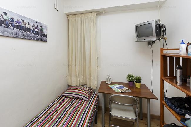 Alquiler de habitación en Barcelona con TV