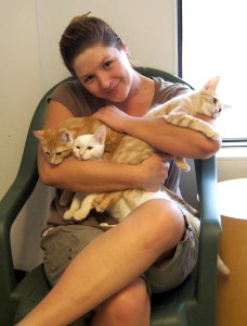 Ramie & kittens