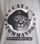 Cat Commando t-shirt