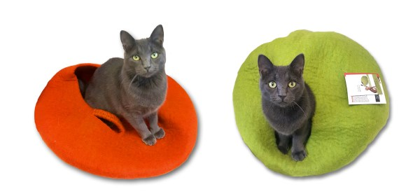 Felted Cat Beds @ Happy Cats