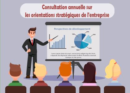 Consultation annuelle sur les orientations stratégiques de l'entreprise