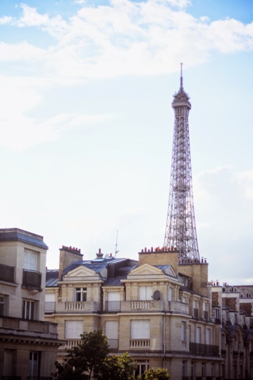 Nuit avec vue sur la Tour Eiffel - Hôtel de La Bourdonnais