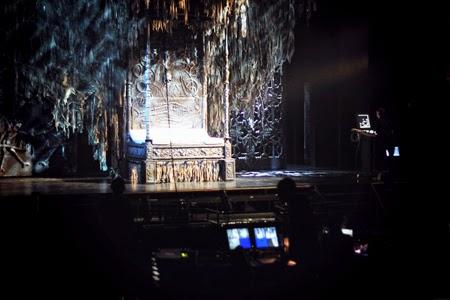 Visite des coulisses du Bal des Vampires au Mogador avec Roman Polanski
