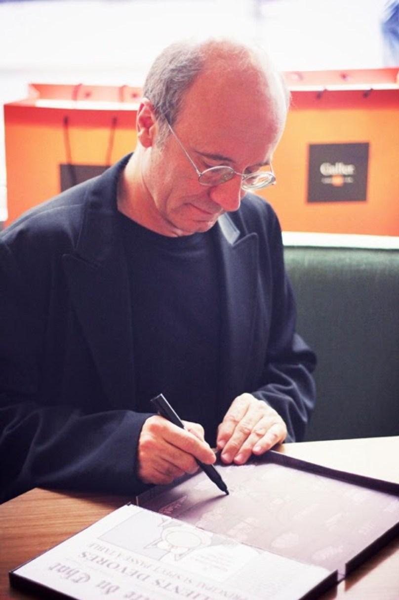 Rencontre gourmande avec Jean Galler et Philippe Geluck