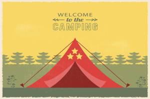 Partir au camping en vacances