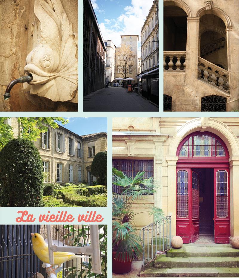 La Vieille ville de Montpellier
