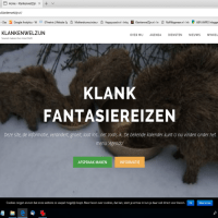 Screenshot KlankenwelZijn.nl