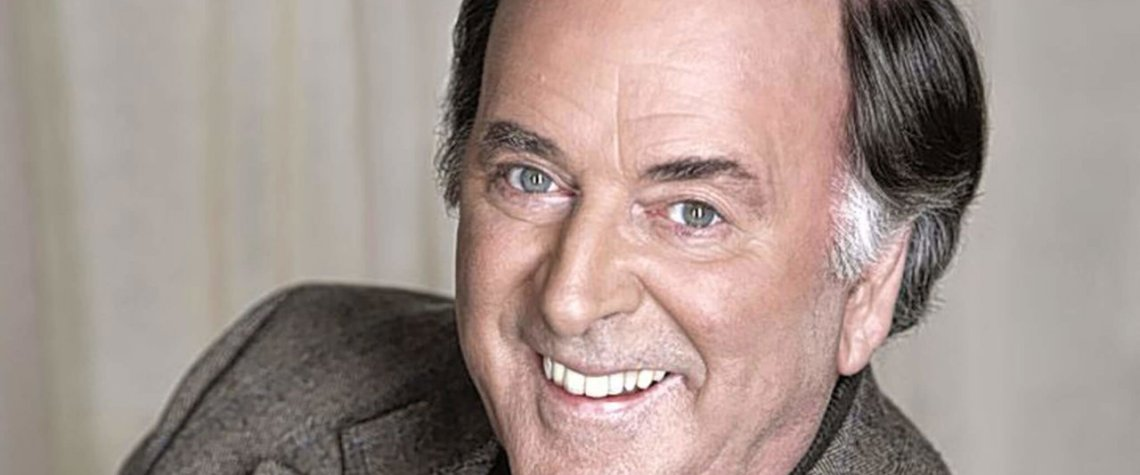 A photo of the late-great Terry Wogan, Irish broadcaster extraordinaire
